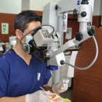 歯の神経の入り口は3つだけではなく、4つ目、5つ目が見つかることがあります。
